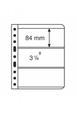 Kunststoffhüllen VARIO, 3er-Einteilung..