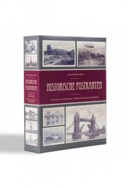 Album für 200 historische Postkarten, ..