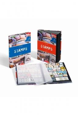 Einsteckbuch STAMPS DIN A4, 16 schwarz..