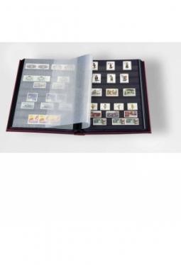 COMFORT Einsteckbuch DIN A4, 32 schwarze Seiten, wattierter Einband