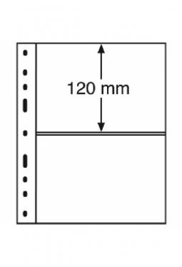 Kunststoffhüllen OPTIMA, 2er Einteilung, 10er Pack