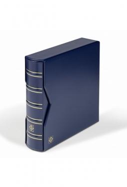 Album für 200 FDC's oder Briefe DIN lang, Inkl. Schutzkassette, blau
