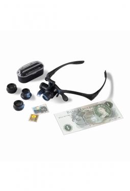 LED-Lupenbrille MONOKEL mit 10- bis 25-facher Vergrösserung